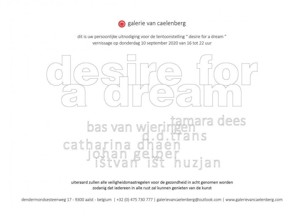 gallery/desire for a dream